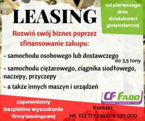 Leasing dla nowych firm